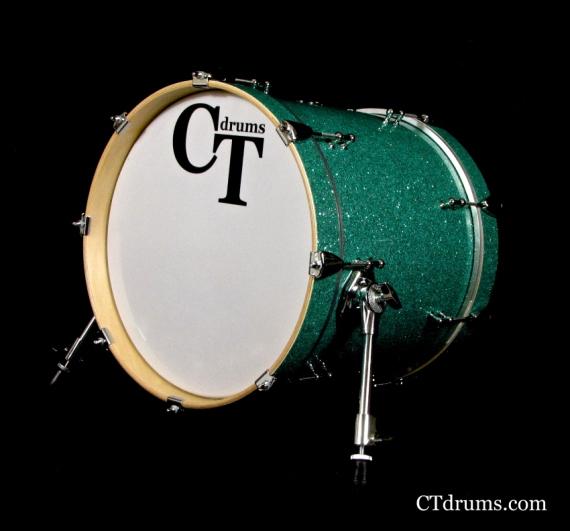 "16"" Turquoise Glass Kick"