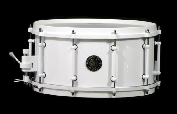 "7x14"" Solid White w/ White Hardware"