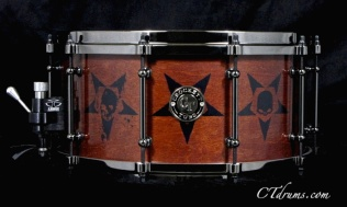 "7x14"" Tobacco Stain Custom FTP Logos Satin Specialty"