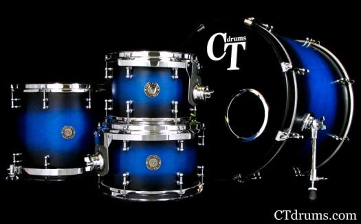 4pc Brilliant Blue Burst