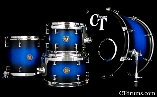 4pc Brilliant Blue Burst