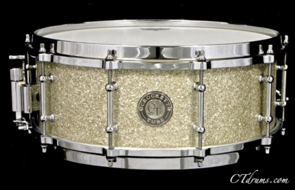 "5.5x14"" Silver Glass Glitter w/ Die Cast"