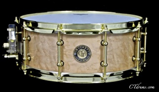 "5.5x14"" Birdseye Maple w/ Brass"