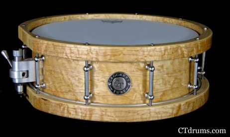 "5x14"" Solid Shell Birdseye Maple w/ Matching Hoops"