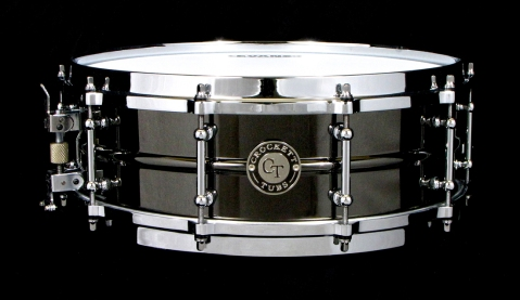 "5x14"" Black Nickel Over Brass w/ Die Cast Hoops"