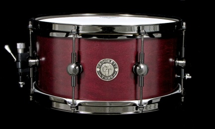 "6.5x13"" Blood Red Satin Stain w/ GN Lugs"