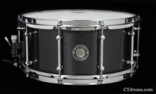 "6.5x14"" CF2 Thin Carbon FIber w/ DF Tube Lugs"