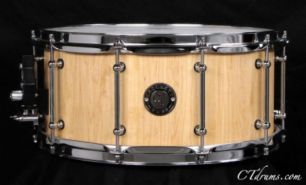 "6.5x14"" Maple Stave Natural"
