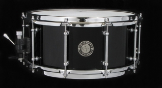 "6.5x14"" Gloss Piano Black Lacquer"