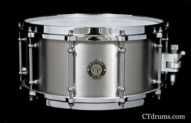 "6.5x14"" Titanium Raw w/ Die Cast"