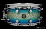"7x14"" Caribbean Blue Kandy Fade"