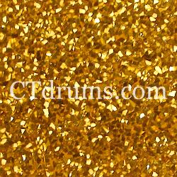 Gold glitter wrap