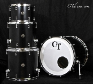 4pc Black Satin Specialty