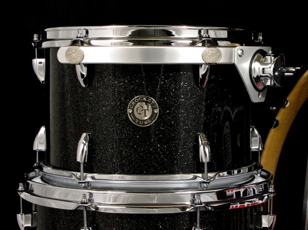 "8x12"" Black Glass w/ Teardrop Lugs"