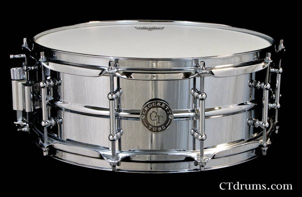 "5.5x14"" Chrome Over Brass Snare"