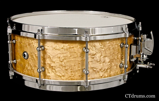 "5.5x14"" AAA birdseye maple snare"