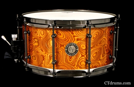 "7x14"" Cherry Swirl Veneer High Gloss"