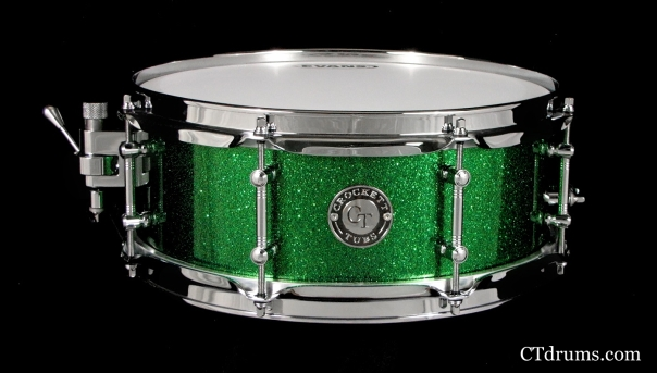 5x13 solid maple brilliant emerald flake