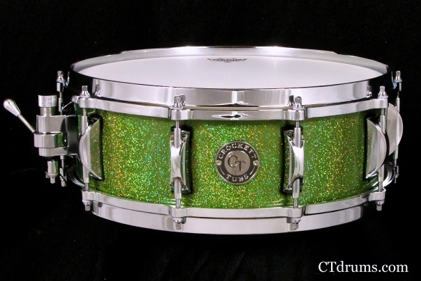 "5x14"" solid birch green rainbow gloss"