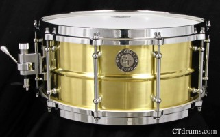 "6.5x14"" Polished Vintage Brass w/ Die Cast"