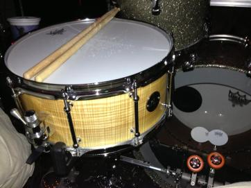 AJ Curtis' newest addition.  Curly Olive Ash 6x14""