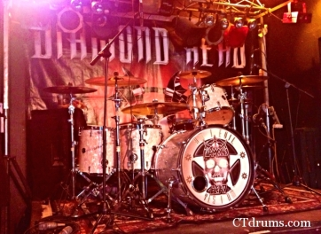 Diamond Head kit on the road on their 2013 Summer tour