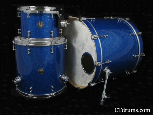3pc blue glass kit